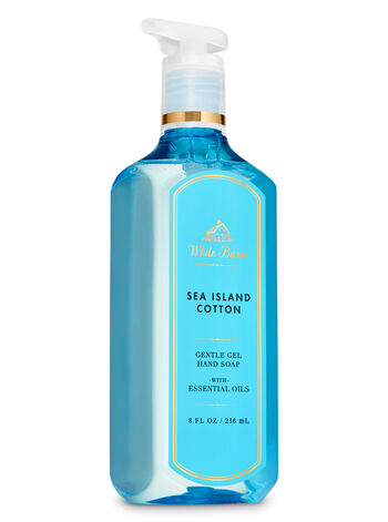White Barn Sea Island Cotton Gentle Gel Hand Soap - Bath And Body Works