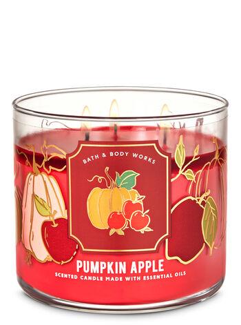 Pumpkin Apple 3-Wick Candle