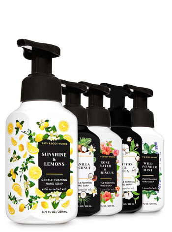 Black & White Gentle Foaming Hand Soap, 5-Pack - Bath And Body Works