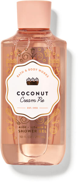 Coconut Cream Pie Shower Gel