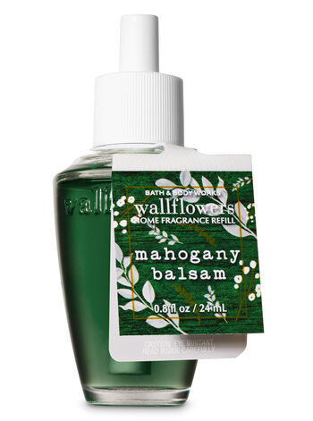 Mahogany Balsam Wallflowers Fragrance Refill - Bath And Body Works