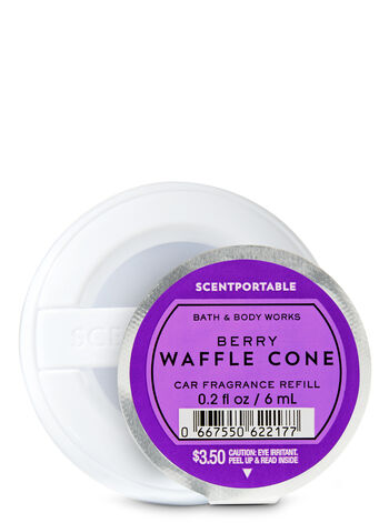 Berry Waffle Cone Car Fragrance Refill - Bath And Body Works