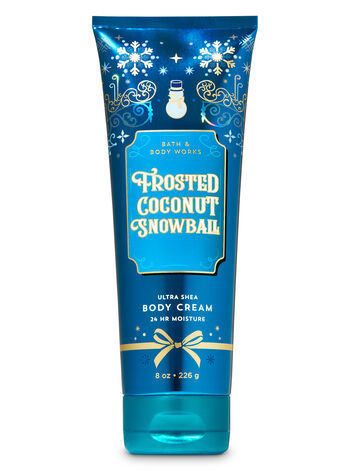 Frosted Coconut Snowball Ultra Shea Body Cream - Bath And Body Works