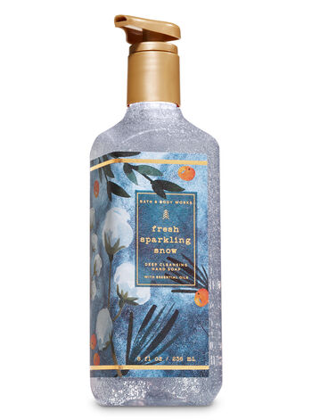 Fresh Sparkling Snow Deep Cleansing Hand Soap - Bath And Body Works
