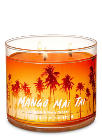 Mango Mai Tai 3-Wick Candle - Bath And Body Works