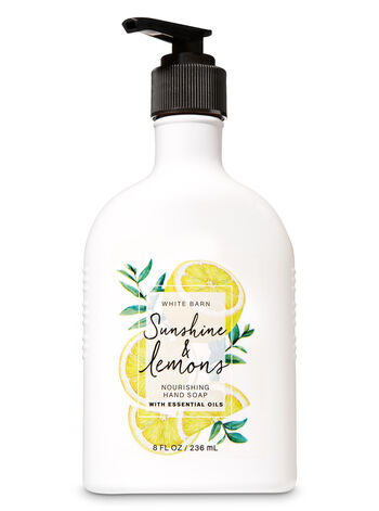 Sunshine & Lemons Nourishing Hand Soap - Bath And Body Works