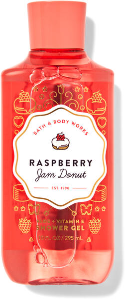Raspberry Jam Donut Shower Gel