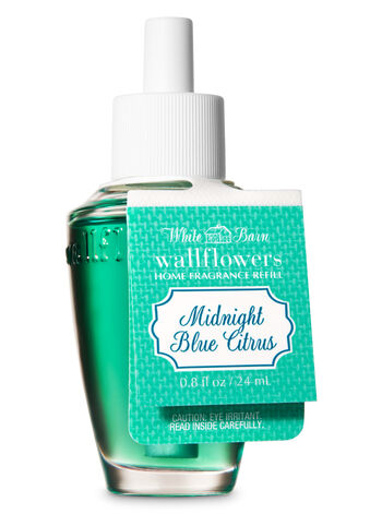 White Barn Midnight Blue Citrus Wallflowers Fragrance Refill - Bath And Body Works
