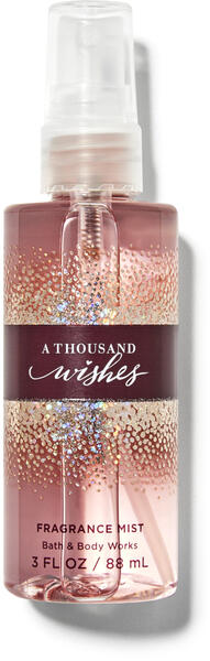 A Thousand Wishes Travel Size Fine Fragrance Mist