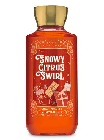 Snowy Citrus Swirl Shower Gel - Bath And Body Works
