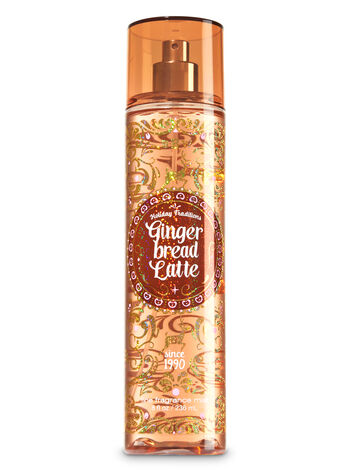 Signature Collection Gingerbread Latte Fine Fragrance Mist - Bath And Body Works