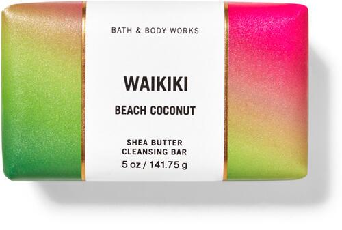 Waikiki Beach Coconut Shea Butter Cleansing Bar