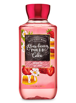 Strawberry Pound Cake Shower Gel
