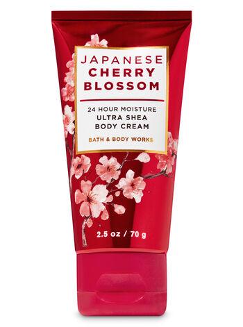 Japanese Cherry Blossom Travel Size Body Cream - Bath And Body Works