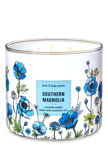 Southern Magnolia 3-Wick Candle - Bath And Body Works
