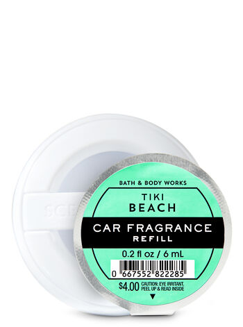 Tiki Beach Car Fragrance Refill - Bath And Body Works