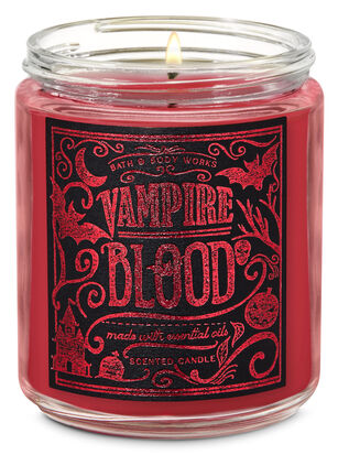 Vampire Blood Single Wick Candle