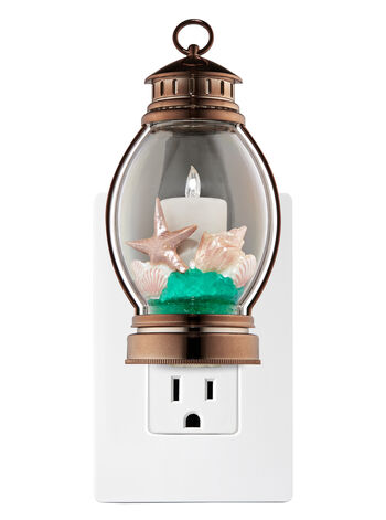 Beach Pillar Candle Nightlight Wallflowers Fragrance Plug