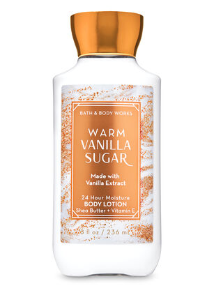 Warm Vanilla Sugar Super Smooth Body Lotion