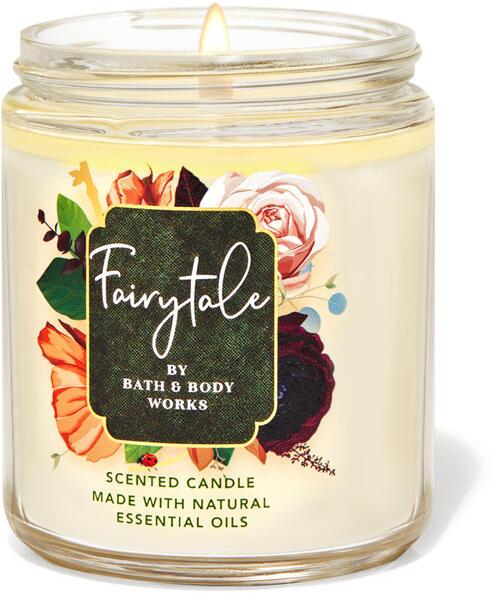 Fairytale Single Wick Candle
