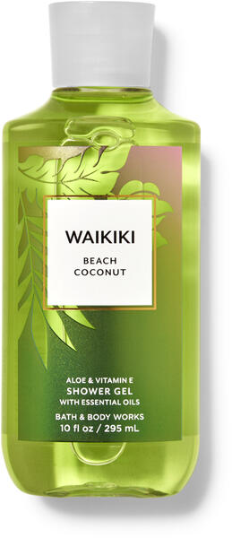 Waikiki Beach Coconut Shower Gel