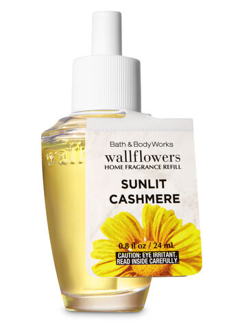 Sunlit Cashmere Wallflowers Fragrance Refill - Bath And Body Works