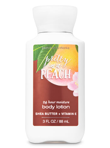 Signature Collection Pretty as a Peach Travel Size Body Lotion - Bath And Body Works