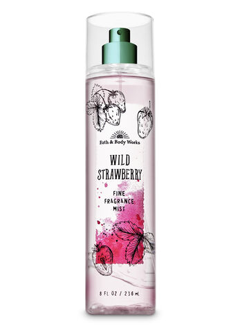 Signature Collection Wild Strawberry Fine Fragrance Mist - Bath And Body Works