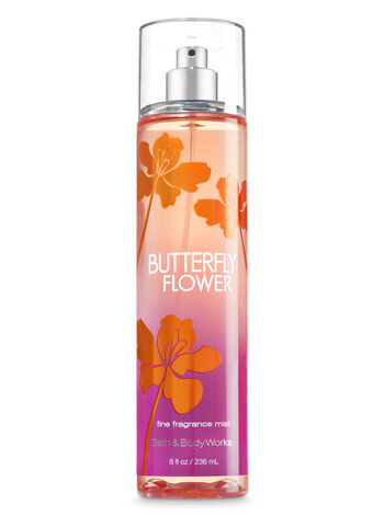 Signature Collection Butterfly Flower Fine Fragrance Mist - Bath And Body Works