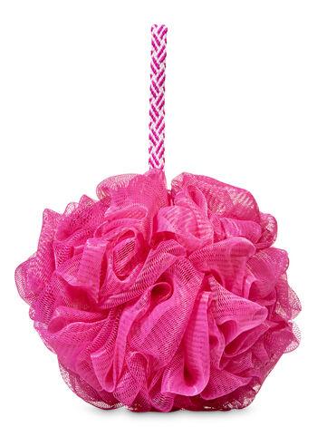 Pink Mesh Shower Sponge - Bath And Body Works