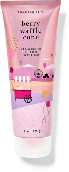 Berry Waffle Cone Ultra Shea Body Cream