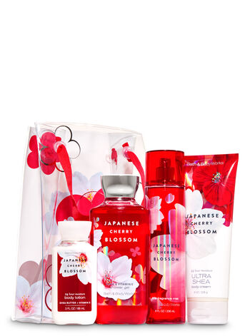 Japanese Cherry Blossom Flower Power Gift Set - Bath And Body Works