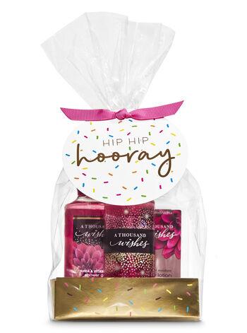A Thousand Wishes Hip, Hip, Hooray Mini Gift Set
