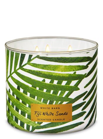Fiji White Sands 3-Wick Candle - Bath And Body Works