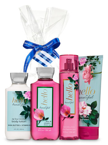 Hello Beautiful Gift Kit - Bath And Body Works