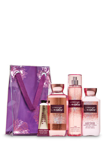 A Thousand Wishes Gift Bag Set - Bath And Body Works
