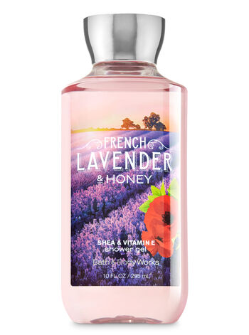 Signature Collection French Lavender & Honey Shower Gel - Bath And Body Works