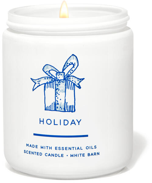 Holiday Single Wick Candle