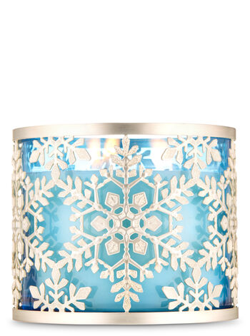 Sparkly Snowflake 3-Wick Candle Holder - Bath And Body Works