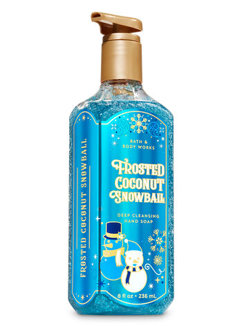 Frosted Coconut Snowball Deep Cleansing Hand Soap - Bath And Body Works