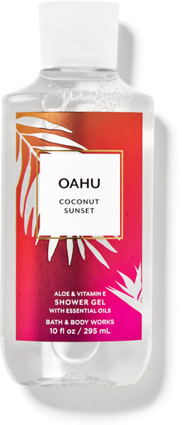 Oahu Coconut Sunset Shower Gel