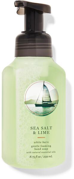 Sea Salt & Lime Gentle Foaming Hand Soap