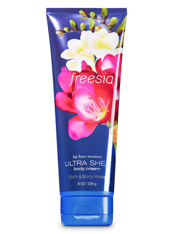Signature Collection Freesia Ultra Shea Body Cream - Bath And Body Works