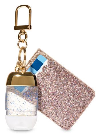 Glittery Gold Credit Card & PocketBac Holder - Bath And Body Works
