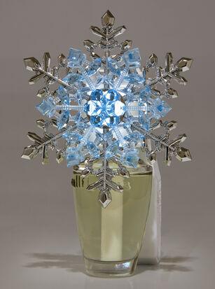Crystal Snowflake Nightlight Wallflowers Fragrance Plug