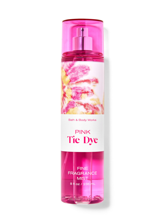 Pink Tie Dye Fine Fragrance Mist