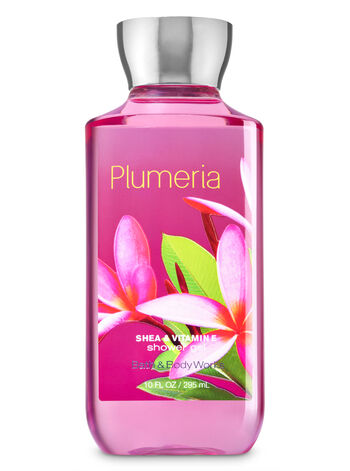 Signature Collection Plumeria Shower Gel - Bath And Body Works
