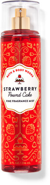 Strawberry Pound Cake Fine Fragrance Mist