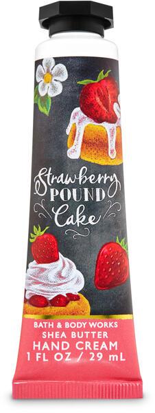 Strawberry Pound Cake Hand Cream