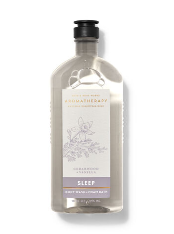 Cedarwood Vanilla Body Wash and Foam Bath